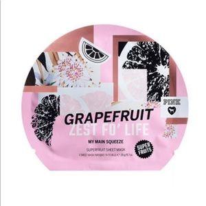 Face Mask Grapefruit Pink